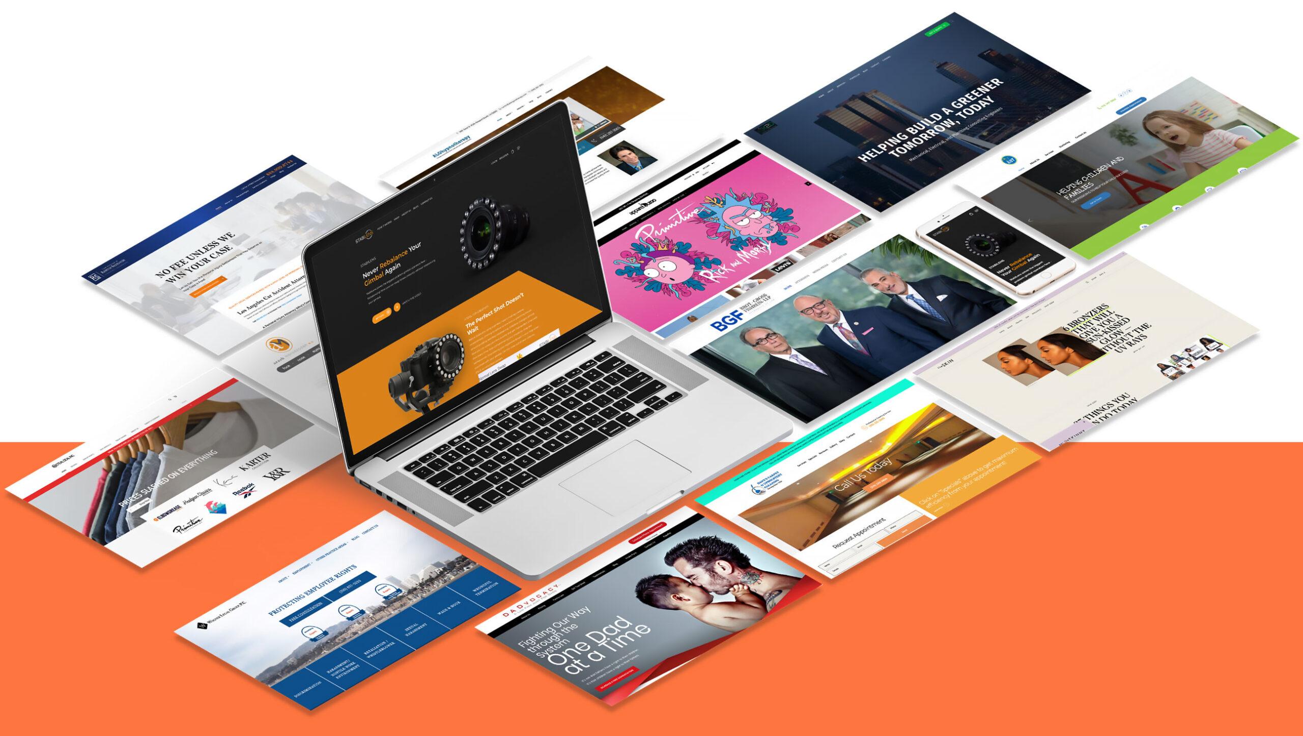 mobile-friendly Web Designs