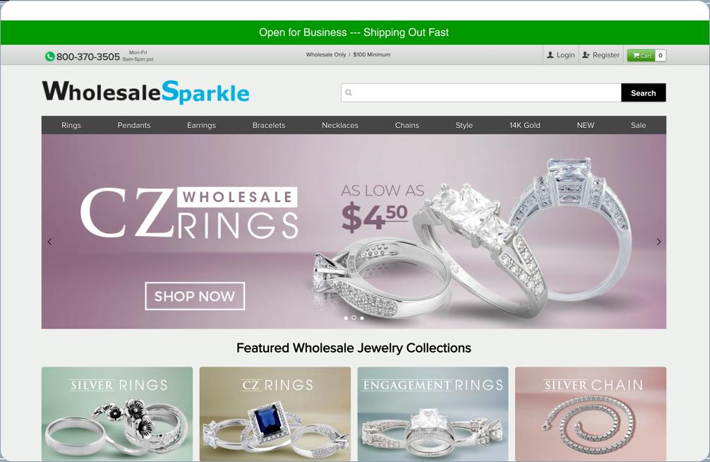 Case Study - Wholesale Sparkle